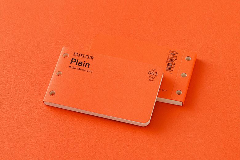003 リフィルメモパッド無地40枚 カードサイズ(77716674)