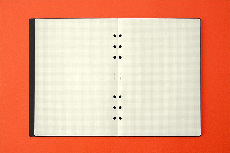 004 ノートパッド2mm方眼80枚 A5サイズ(77716714)