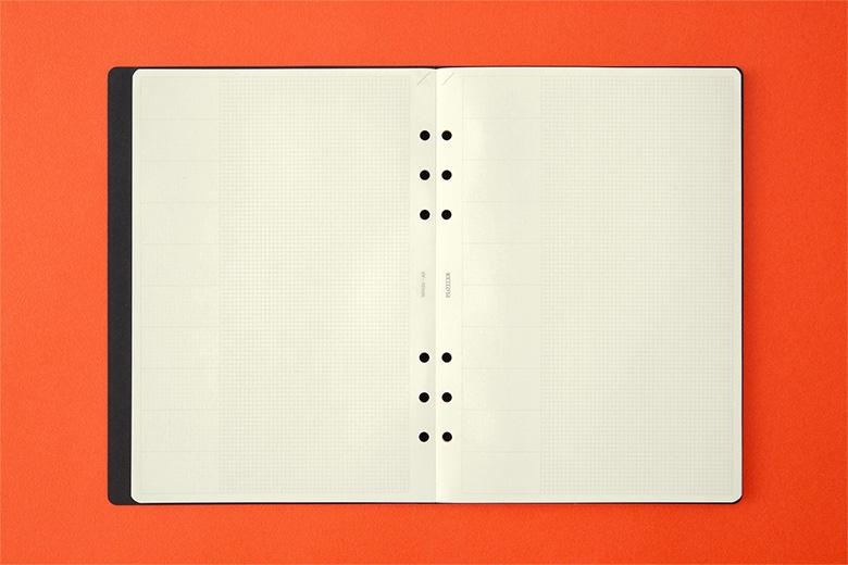 020 ノートパッドチャートグリッド80枚 A5サイズ(77716718)