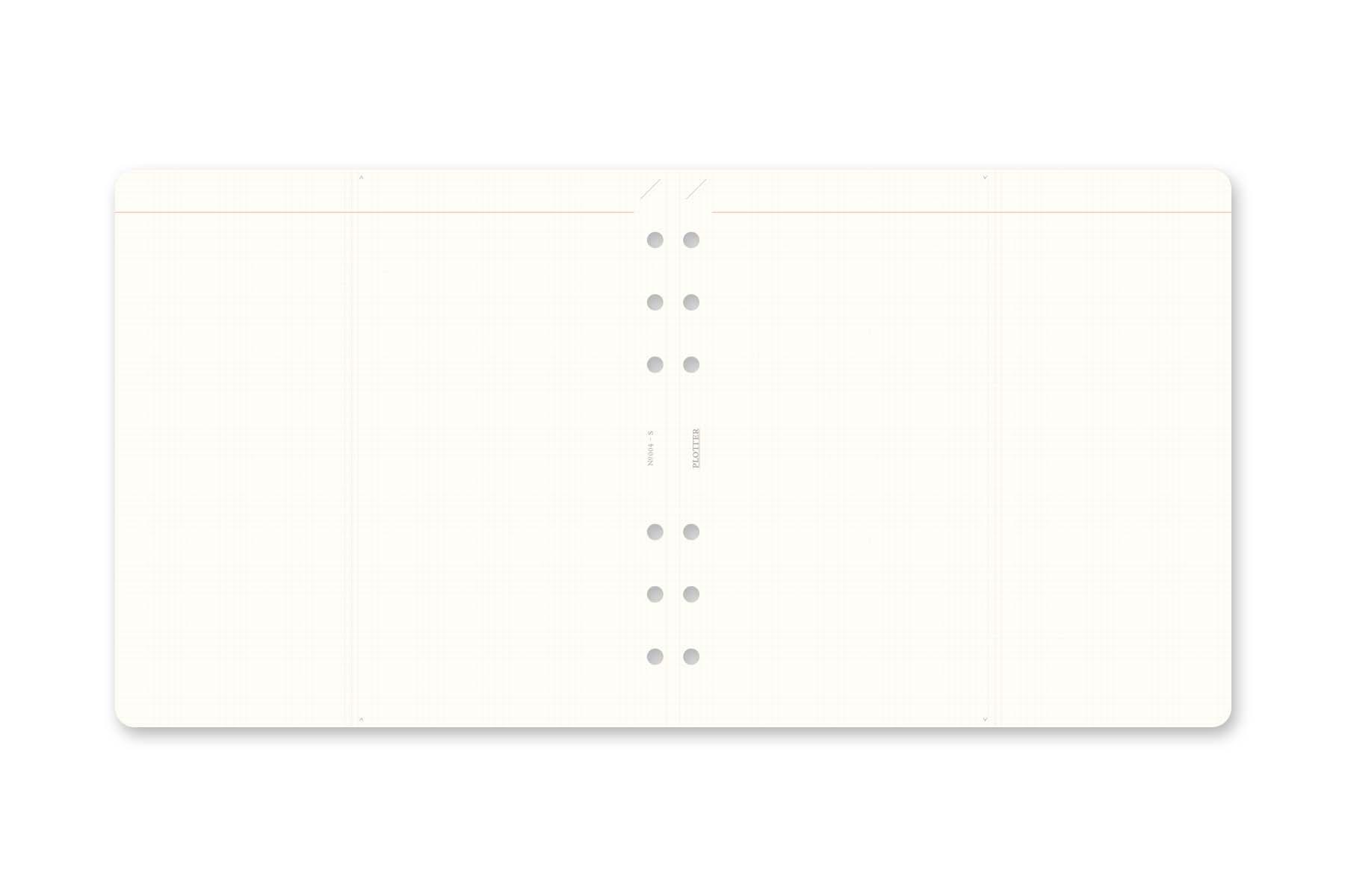 オンラインショップ限定 リフィルメモパッド 2mm方眼 スクエアサイズ(89992797)